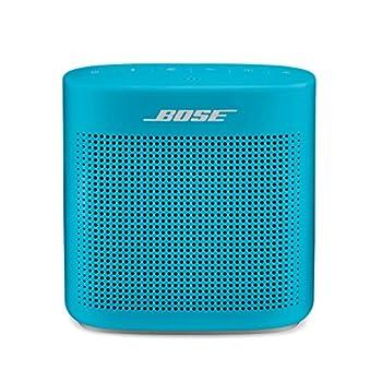 Bose SoundLink Color II  Portable Bluetooth Wireless Speaker with Microphone- Aqua Blue