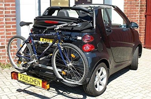Portabicicletas Comfort Dos bicicletas Smart Fortwo 451Cabrio