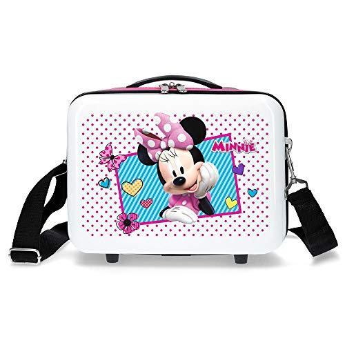 Disney Minnie Enjoy Minnie Icon Trousse Adattabile Rosa 29x21x15 cm Rigida ABS 9,14L 0,84 kg