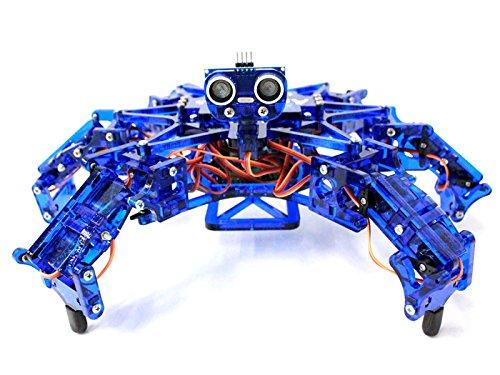 SeeedStudio - Hexy - Arduino Powered Hexapod Robotics Kit - Kinematics - DIY Maker Open Source BOOOLE