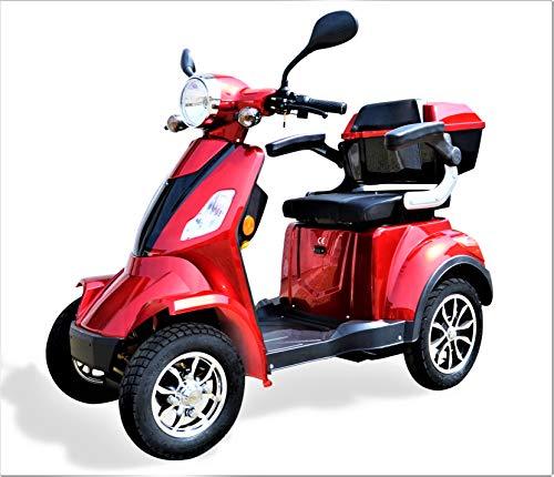 Eco Engel 510 Elektromobil/Seniorenmobil 4 Rad, Seniorenfahrzeug, 1000 Watt, 25 km/h