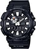 Casio Men's Japanese Quartz Watch with Resin Strap, Black, 29.4 (Model: GAX100B-1A)