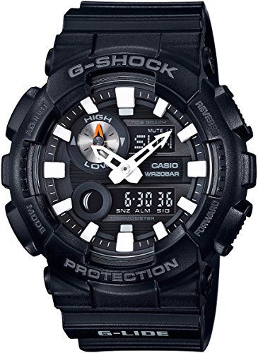 Price comparison product image Casio G-Shock GAX-100 G-Lide Series Watches - Black / One Size
