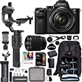 Sony a7 II Full-Frame Alpha Mirrorless Digital Camera a7II + 28-70mm Lens ILCE-7M2/K Filmmaker's Kit with DJI Ronin-SC 3-Axis Handheld Gimbal Stabilizer Bundle + Deco Photo Backpack + 64GB + Software