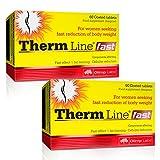 THERM LINE FAST | Quemador de grasa termogénico para mujeres | Pastillas adelgazantes | Reducción de tejido graso (120 cápsulas)