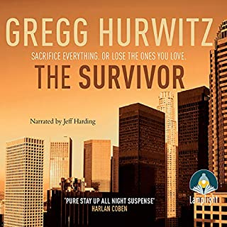 The Survivor                   By:                                                                                                                                 Gregg Hurwitz                               Narrated by:                                                                                                                                 Jeff Harding                      Length: 13 hrs and 20 mins     580 ratings     Overall 4.3