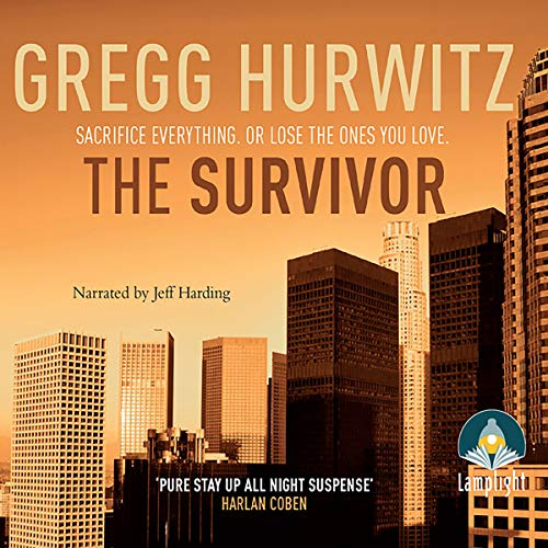 The Survivor                   By:                                                                                                                                 Gregg Hurwitz                               Narrated by:                                                                                                                                 Jeff Harding                      Length: 13 hrs and 20 mins     27 ratings     Overall 4.3