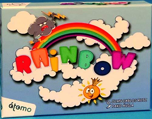 Atomo games- Arcoíris Rainbow Juego de Cartas (8437018229017)