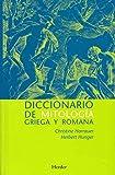 Diccionario de mitologa griega y romana. Con referencias sobre la influencia de