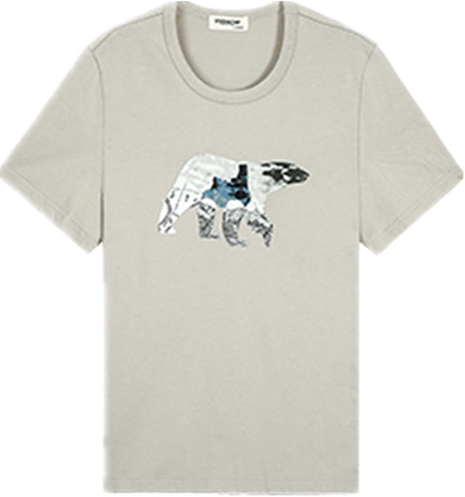 The new summer wear t-shirts printed European and American design tide