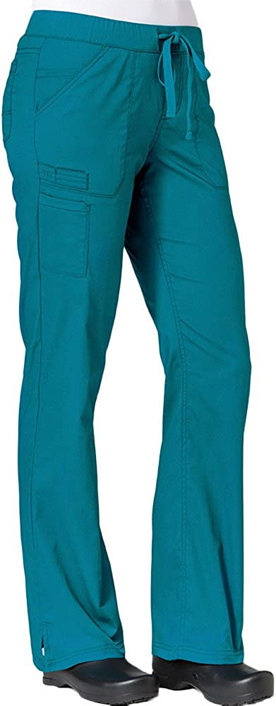 Maevn 7322 Inner Beauty Bargain Straight Animer and price revision Pant Blue 3XL Teal Leg
