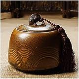 Shade Cloth Funeral urna SLZFLSSHPK Las urnas for Las Cenizas funerarias de cerámica Adultas Madre urna Las Cenizas Envuelto en Papel del Adulto/Padre/Abuelo/Abuela/bebé/Animales Hechos a Mano