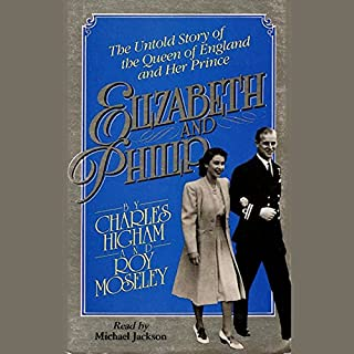 Elizabeth and Philip audiobook cover art