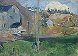 World of Art Paul Gauguin Landschaft in der Bretagne. Die