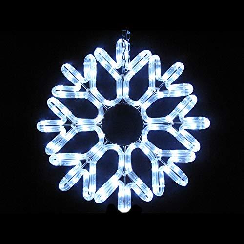 MK 032-209 LED Schneeflocke 40 cm weisse LED ohne Zuleitung koppelbar