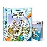 Ravensburger Tiptoi Create libro | El viaje del mundo loco + mapa del mundo para niños a partir de 6 años