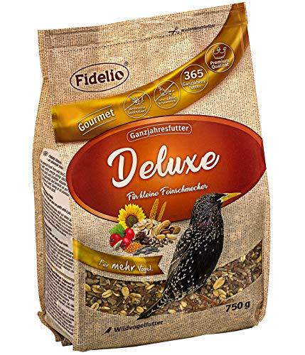 Fidelio Wildvogelfutter Deluxe, schalenfrei, 750 g