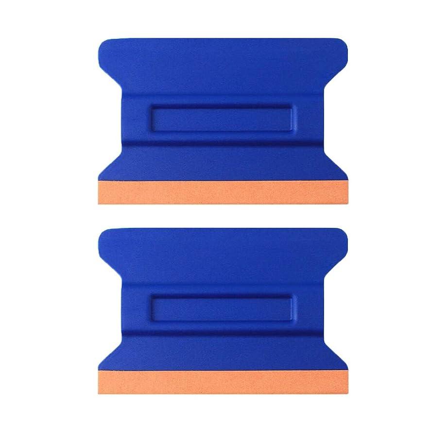 Car Vinyl Tint Squeegee Durable Car Bondo Decal Vinyl Wrap Window Tint Application Tool Set of Soft Felt for Edge Scraper 4.33 Inch – Pack of 2