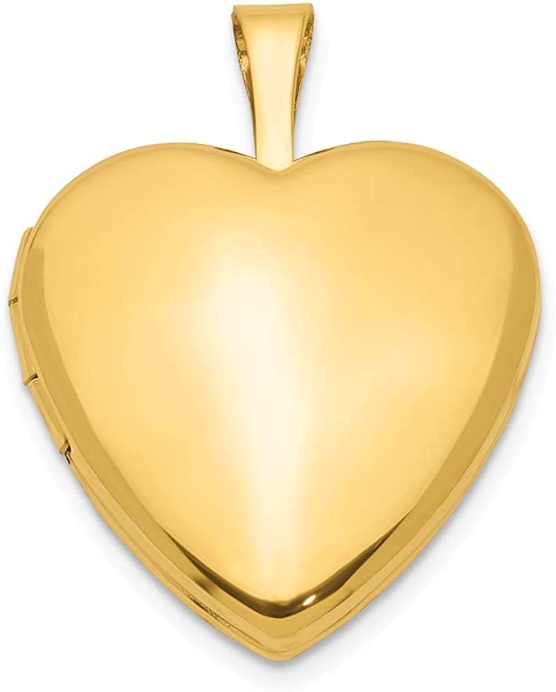 1/20 Gold Filled 2 Frame 15mm Heart Photo Pendant Charm Locket Chain Necklace That Holds Pictures Fashion Jewelry For Women Gifts For Her