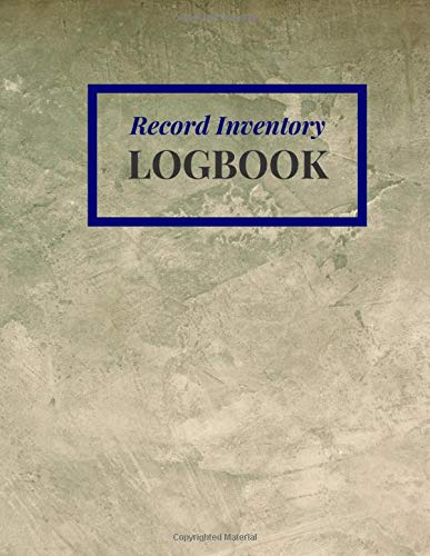 Record Inventory Logbook: Document & Track product inventory checklist item reseller for organizing stock management for controlling cost in your business / Surface Cement Plastering Cover