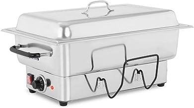 Royal Catering Chauffe-plat Chafing Dish RCCD-1/1-100-ES-E (1600W, incl. récipient GN 1/1, profondeur du récipient 100 mm,...