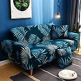 PPOS Elastische Stretch Schonbezüge Sofa Sectional Sofa Cover für Wohnzimmer Couch Cover Single C11 4 Sitze 235-300cm-1pc