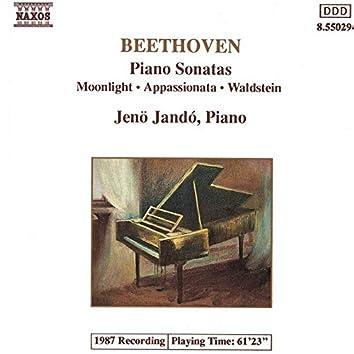 Beethoven: Piano Sonatas Nos. 14, 21 and 23