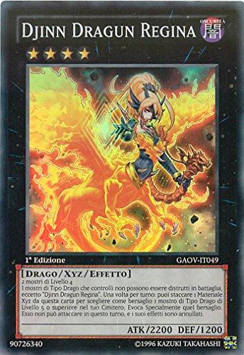 Yu-Gi-Oh! - GAOV-IT049 - Djinn Dragun Regina - Sovrano Galattico - Unlimited Edition - Super Rara