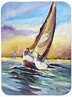 Caroline's Treasures JMK1159MP Horn Island Sailboat Race Mouse Pad, Hot Pad or Trivet, Large, Multicolor [並行輸入品]