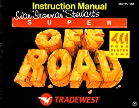 Ivan Ironman Stewart's Super Off Road NES Instruction Booklet (Nintendo NES Manual Only - No Game) (Nintendo NES Manual)