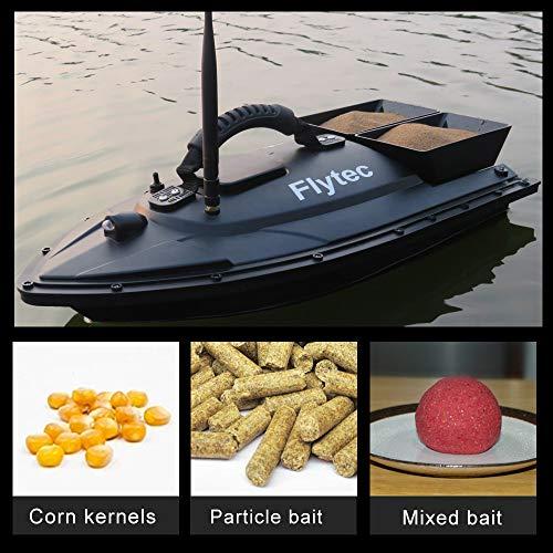 Goolsky Flytec V500 RC Fischköder Boot RC Boat Fish Finder 1.5kg Beladung 500M Fernbedienung Doppelmotor Nachtlicht
