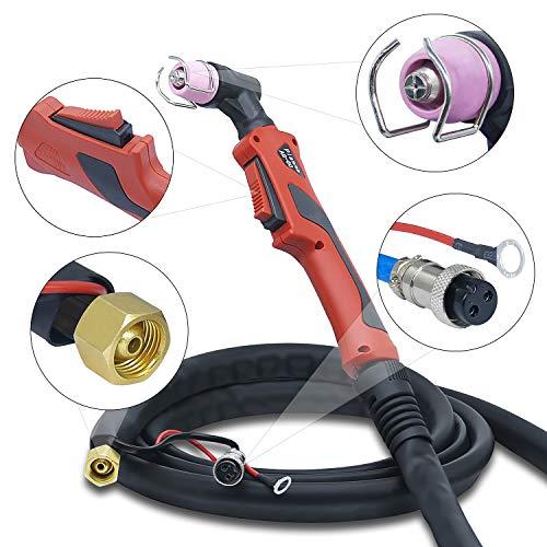 Plasmaschneider Plasmaschneidgerät Plasmacutter Cut mit 70 Ampere und Pilotzündung + digitales Anzeigendisplay von Vector Welding - 2