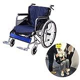 Asiento de transferencia a silla de ruedas con correas de elevación, equipo médico de cuidado de pacientes, seguro, ayuda para transferir a personas mayores o con discapacidad