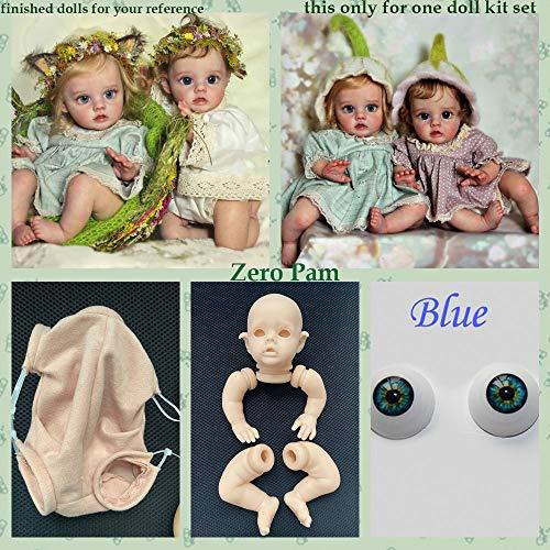 Zero Pam Blank Reborn Kits Molde de Silicona (extr