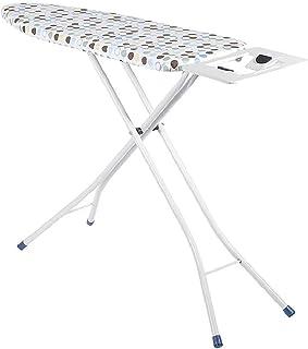 YLDXP Planches à Repasser Studio de vêtements Pliant, The Mall Buanderie X Type Table à Repasser à 4 Pieds, Point de Vagu...