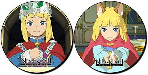 MasTazas Ni no Kuni II Revenant Kingdom Posavasos x4 Coasters