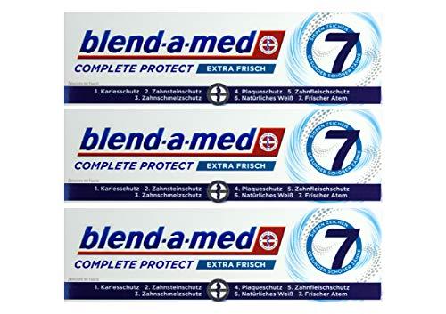 3x Blend-a-med Complete Protect 7 Zahncreme Extra Frisch 75ml Zahnpasta Neu & OVP