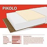 FDM PIKOLO Latexmatratze, Kokos, Latex, Polyurethan-Schaum, Polyester, 90 x 200 cm - 11