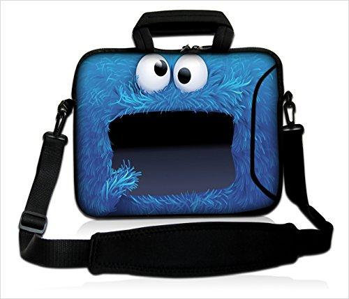 Funky Planet Bag Cases beschermhoes voor laptops met 38,1-15,6 inch (38,1-39,6 cm) meerkleurig Cookie
