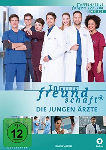 In aller Freundschaft - Die jungen Ärzte, Staffel 4, Folgen 127-144 [6 DVDs]