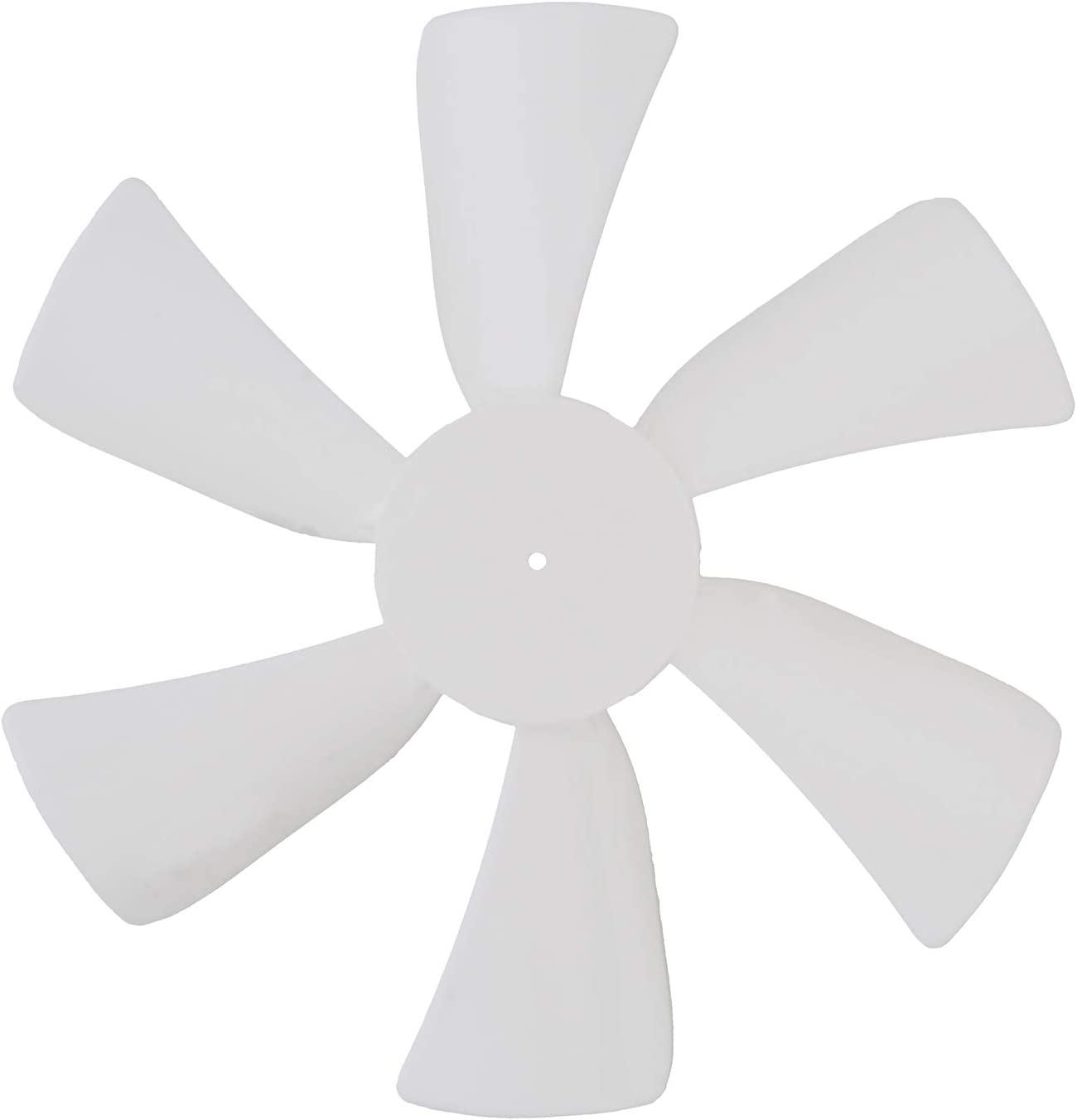 Dumble Price reduction Fan Blades Replacement with Round White 6in Bore Max 86% OFF 0.094in