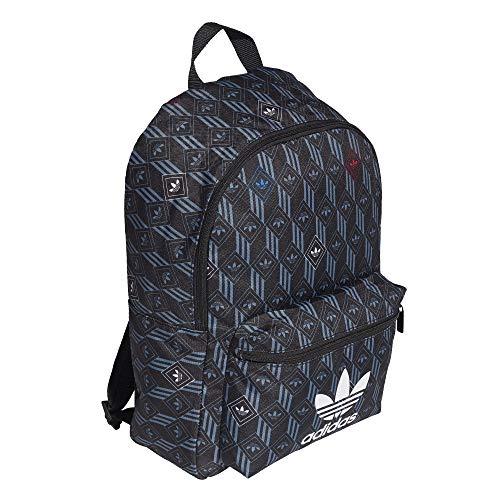 Adidas Monogram Backpack Black Black/Multi-Coloured One Size