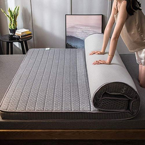 Buy HJGHY Foldable Futon Mattress, Tatami Comfortable Breathable Floor Mattress Quilted Fitted Sleep...