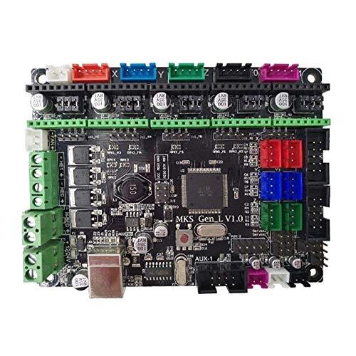 YUQIYU La Placa del módulo JZ-TS24 de 2,4 Pulgadas a Todo Color LCD de Pantalla táctil de la exhibición + MKS-Gen L Controlador Integrado Placa Base V1.0 for el Monitor de la Impresora 3D