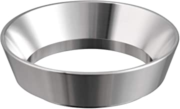 51mm Espresso Dosing Funnel, MATOW Stainless Steel Coffee Dosing Ring Compatible with 51mm Portafilter (51mm)