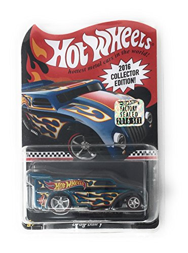 Hot Wheels 2016 Collector Edition #4 Drag Dairy Blue
