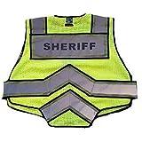 FIRE NINJA SHERIFF VEST-Class 2 Reflective - High Visibility Public Safety Vest - Regular
