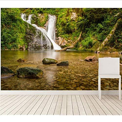 Benutzerdefinierte Große Wandbilder, Wasserfälle Wälder Stones Deutschland Flüsse Natur Tapete, Wohnzimmer Sofa Tv Wand Schlafzimmer Papel De Parede Möbeldekoration (W)300x(H)210cm