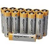 AmazonBasics Lot de 12 piles alcalines Type AA 1,5 V 2875 mAh (design variable)