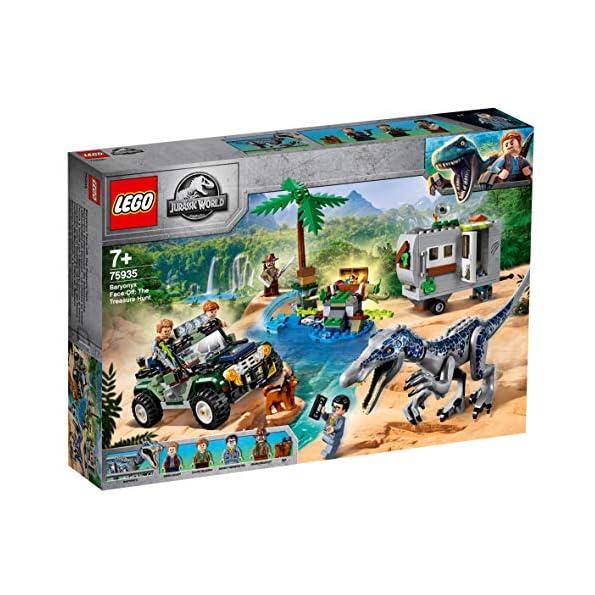 LEGO-Jurassic-World-Gioco-per-Bambini-Faccia-a-Faccia-con-il-Baryonyx-Caccia-al-Tesoro-Multicolore-6250528